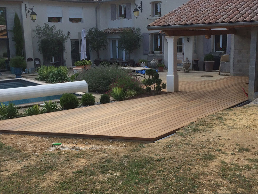 Construction terrasse Annonay